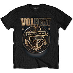 Volbeat Men's Tee: Anchor