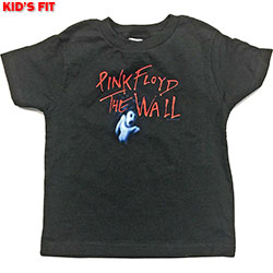 Pink Floyd Kid's Tee: The Wall Ghost & Logo (Youth's Fit)