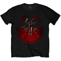 Pink Floyd Men's Tee: The Wall Oversized Hammers