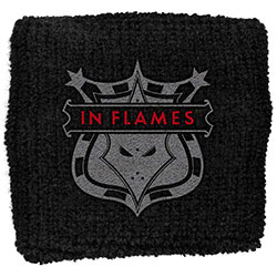 In Flames Sweatband: Shield (Loose)