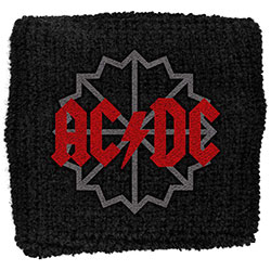 AC/DC Sweatband: Black Ice Logo (Loose)