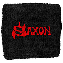 Saxon Sweatband: Red Logo (Loose)