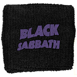 Black Sabbath Sweatband: Purple Wavy Logo (Retail Pack)