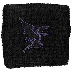 Black Sabbath Sweatband: Purple Devil (Retail Pack)