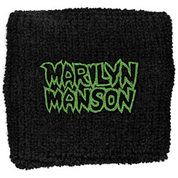 Marilyn Manson Sweatband: Logo (Loose)