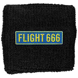 Iron Maiden Sweatband: Flight 666 (Retail Pack)