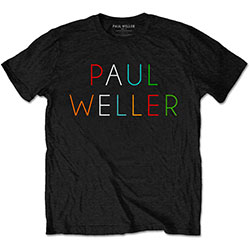 Paul Weller Men's Tee: Multicolour Logo