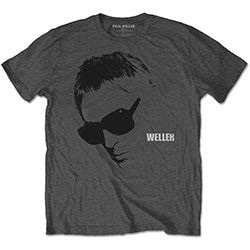 Paul Weller Men's Tee: Glasses Picture