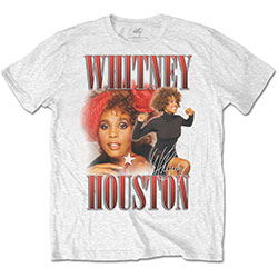 Whitney Houston Unisex Tee: 90s Homage