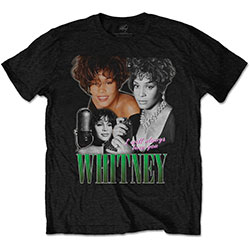 Whitney Houston Unisex Tee: Always Love You Homage