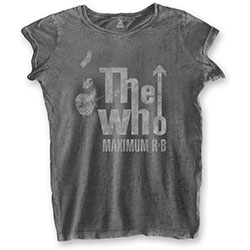 The Who Ladies Fashion Tee: Max R&B (Burn Out)