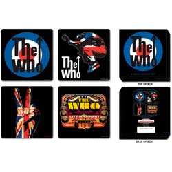 The Who Coaster Set: Mixed