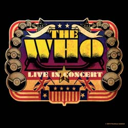 The Who Single Cork Coaster: Live in Concert