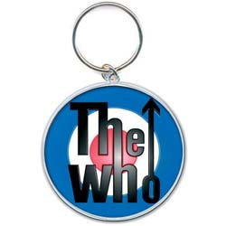 The Who Keychain: Target Logo (Enamel In-fill)