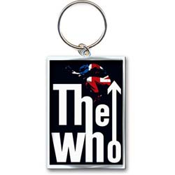 The Who Standard Keychain: Leap Logo