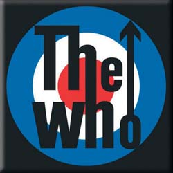 The Who Fridge Magnet: Target Logo