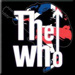 The Who Fridge Magnet: Leap Logo
