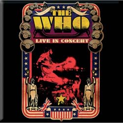 The Who Fridge Magnet: Live in Concert