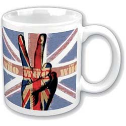 The Who Boxed Standard Mug: Peace Fingers
