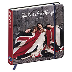 The Who Notebook: The kids are alright (Hard Back)