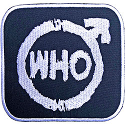 The Who Standard Patch: Spray Logo