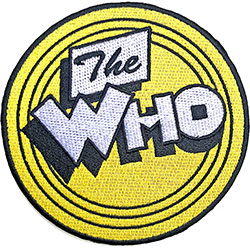 The Who Standard Patch: Yellow Circle
