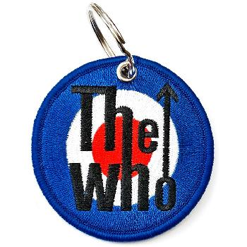 The Who Keychain: Target Logo (Double Sided Patch)