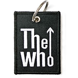 The Who Keychain: Arrow Logo (Double Sided Patch)
