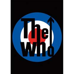 The Who Postcard: Target (Standard)
