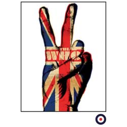 The Who Postcard: V Sign (Standard)