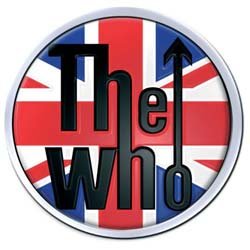 The Who Pin Badge: Union Jack