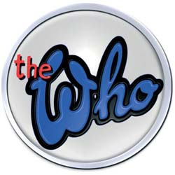 The Who Pin Badge: 73 Logo