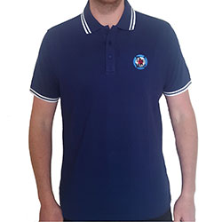 The Who Unisex Polo Shirt: Target Logo