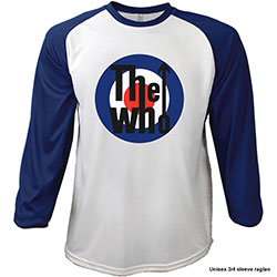 The Who Unisex Raglan Tee: 1969 Pinball Wizard
