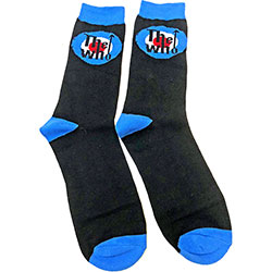 The Who Unisex Ankle Socks: Target Logo (UK Size 7 - 11)