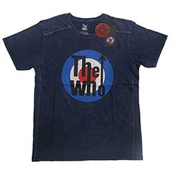 The Who Unisex Tee (Snow Wash): Target Logo