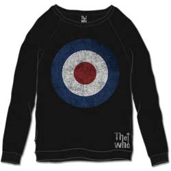 The Who Unisex Sweatshirt: Target Distressed