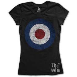 The Who Ladies Tee: Target Distressed
