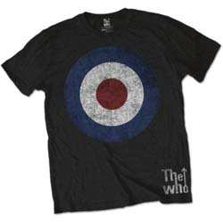 The Who Unisex Tee: Target Distressed