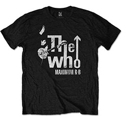 The Who Unisex Tee: Maximum R&B