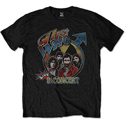 The Who Unisex Tee: Live in Concert