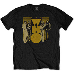 The Who Unisex Tee: Yellow