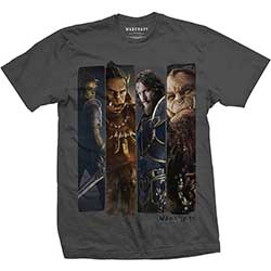 World of Warcraft Unisex Tee: Character Slice