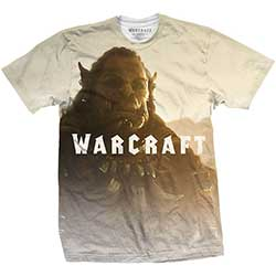World of Warcraft Men's Tee: Durotan Fade with Sublimation Printing