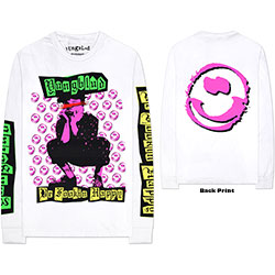Yungblud Unisex Long Sleeved Tee: Punker (Arm & Back Print)