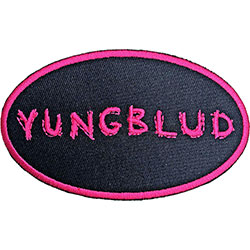 Yungblud Standard Patch: Oval Logo
