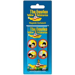 The Beatles Magnetic Bookmark: Yellow Submarine Portholes