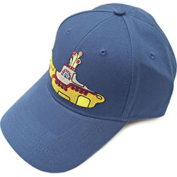 The Beatles Men's Baseball Cap: Yellow Submarine (Denim Blue)
