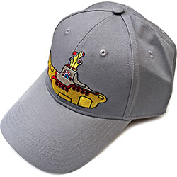 The Beatles Men's Baseball Cap: Yellow Submarine (Grey)