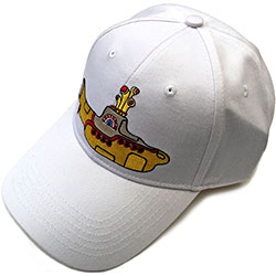 The Beatles Men's Baseball Cap: Yellow Submarine (White)
